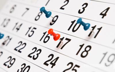 Cronograma de presentación y receso Diciembre y Enero
