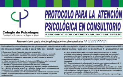 Cartel Protocolo