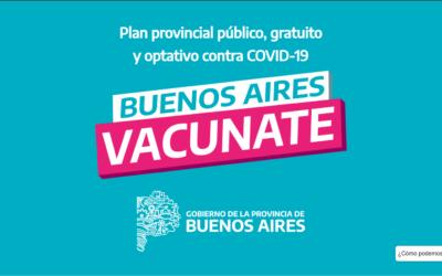 Convocatoria: Aplicación de la vacuna COVID 19.
