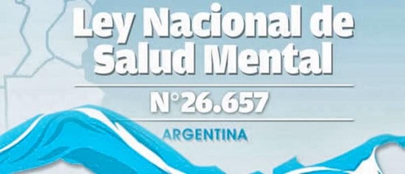 Ley Nacional de Salud Mental. Aportes Dr. Juan Carlos Dominguez Lostalo y Lic. Silvio Angelini